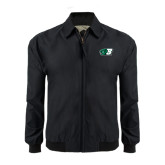 Black Players Jacket-Bearcat Head w/ B