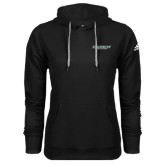 Adidas Climawarm Black Team Issue Hoodie-Binghamton University Flat