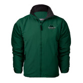 Forest Green Survivor Jacket-Binghamton University Bearcats Official Logo