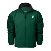 Dark Green Survivor Jacket-Bearcat Head w/ B