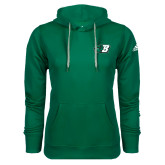 Adidas Climawarm Dark Green Team Issue Hoodie-Bearcat Head w/ B