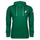 Adidas Climawarm Dark Green Team Issue Hoodie-Bearcat Head w/ B