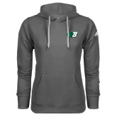 Adidas Climawarm Charcoal Team Issue Hoodie-Bearcat Head w/ B
