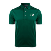 Dark Green Dry Mesh Polo-Bearcat Head w/ B