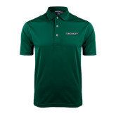 Dark Green Dry Mesh Polo-Binghamton University Flat