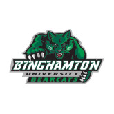 Medium Magnet-Binghamton University Bearcats Official Logo, 8 inches wide