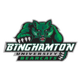 Extra Large Magnet-Binghamton University Bearcats Official Logo, 18 inches wide