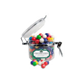 Dubble Bubble Gumballs Small Round Canister-Binghamton University Bearcats Official Logo