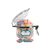 Sour Patch Kids Small Round Canister-Binghamton University Bearcats Official Logo