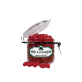 Sweet & Sour Cherry Surprise Small Round Canister-Binghamton University Bearcats Official Logo