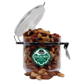 Deluxe Nut Medley Round Canister-Binghamton University Bearcats Official Logo