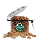 Cashew Indulgence Round Canister-Binghamton University Bearcats Official Logo