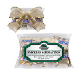 Snickers Satisfaction Pillow Box-Binghamton University Bearcats Official Logo