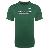 NIKE Green Dri Fit Legend Short Sleeve Tee-