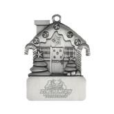 Pewter House Ornament-Binghamton University Bearcats Official Logo - Engraved