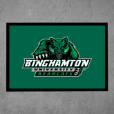 Full Color Indoor Floor Mat-Binghamton University Bearcats Official Logo