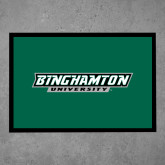 Full Color Indoor Floor Mat-Binghamton University Flat