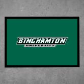 Full Color Indoor Floor Mat-Binghamton University Flat