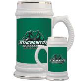 Full Color Decorative Ceramic Mug 22oz-Binghamton University Bearcats Official Logo