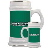 Full Color Decorative Ceramic Mug 22oz-Binghamton University Flat