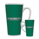 Full Color Latte Mug 17oz-Binghamton University Flat