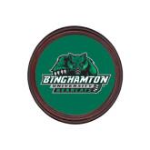 Round Coaster Frame w/Insert-Binghamton University Bearcats Official Logo