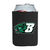 Collapsible Black Can Holder-Bearcat Head w/ B