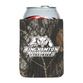 Collapsible Mossy Oak Camo Can Holder-Binghamton University Bearcats Official Logo