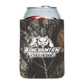 Collapsible Mossy Oak Camo Can Holder-Binghamton University Bearcats Official Logo