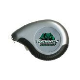 Silver Raindrop 10 Ft. Tape Measure-Binghamton University Bearcats Official Logo