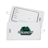Luggage Tag-Binghamton University Bearcats Official Logo