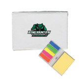 Micro Sticky Book-Binghamton University Bearcats Official Logo