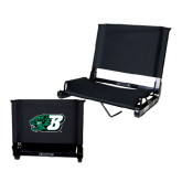 Stadium Chair Black-Bearcat Head w/ B