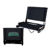 Stadium Chair Black-Arched Binghamton University Bearcats