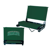 Stadium Chair Dark Green-Arched Binghamton University Bearcats