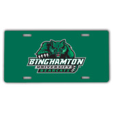 License Plate-Binghamton University Bearcats Official Logo