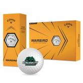 Callaway Warbird Golf Balls 12/pkg-Binghamton University Bearcats Official Logo