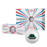 Callaway Supersoft Golf Balls 12/pkg-Binghamton University Bearcats Official Logo