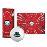Callaway Chrome Soft Golf Balls 12/pkg-Binghamton University Bearcats Official Logo