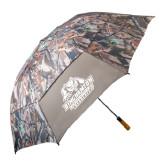 58 Inch Hunt Valley Camo Umbrella-Binghamton University Bearcats Official Logo