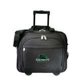 Embassy Plus Rolling Black Compu Brief-Binghamton University Bearcats Official Logo