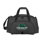 Challenger Team Charcoal Sport Bag-Binghamton University Bearcats Official Logo