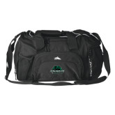 High Sierra Black Switch Blade Duffel-Binghamton University Bearcats Official Logo