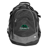 High Sierra Black Fat Boy Day Pack-Binghamton University Bearcats Official Logo