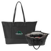Stella Black Computer Tote-Binghamton University Bearcats Official Logo