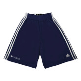 Adidas Climalite Navy Practice Short-Baker and Taylor