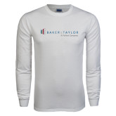 White Long Sleeve T Shirt-Baker and Taylor