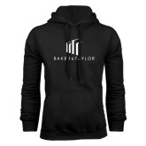 Black Fleece Hoodie-Baker and Taylor Stacked
