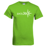 Lime Green T Shirt-Axis 360