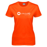 Ladies Orange T Shirt-Collection HQ